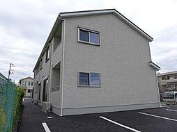 福島県郡山市横塚5丁目の賃貸アパートの外観