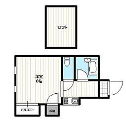 マリノア・テンボックスII[2階]の間取り