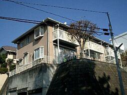 神奈川県横浜市青葉区桜台の賃貸アパートの外観