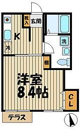 スローライフ鎌倉[1階]の間取り