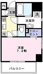 新鎌スカイタワー[4階]の間取り