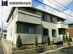 愛知県豊橋市瓜郷町八反田の賃貸アパートの外観