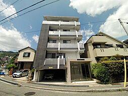 兵庫県神戸市灘区篠原北町3丁目の賃貸マンションの外観