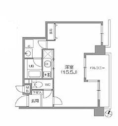 東京都港区白金台5丁目の賃貸マンションの間取り