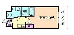 セレニテ福島カルム[3階]の間取り