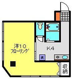Z西村ビル[203号室]の間取り