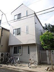 東京都中野区中央3丁目の賃貸アパートの外観