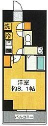 SHOKEN Residence東京八広 2階1Kの間取り