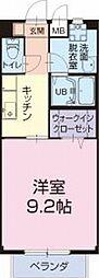JR東海道本線 金谷駅 17.3kmの賃貸アパート 2階1Kの間取り