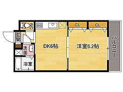 リファレンス笹丘[3階]の間取り