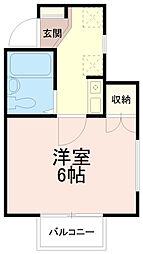 サンシティ稲田堤第6[3階]の間取り