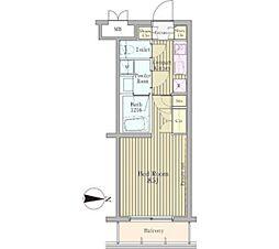 ACOLT氷川台[3階]の間取り