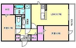 仮称)D-Room群津[1階]の間取り