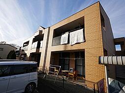 神奈川県厚木市下川入の賃貸アパートの外観