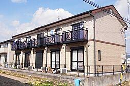 静岡県藤枝市下当間の賃貸アパートの外観