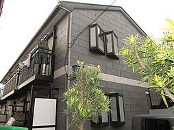 千葉県船橋市夏見台5丁目の賃貸アパートの外観