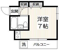 リエス石神井公園[2階]の間取り