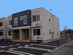 新潟県新発田市富塚町2丁目の賃貸アパートの外観