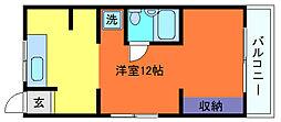 寺口ハイツ[2階]の間取り