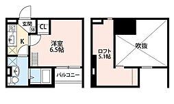 セルフィーユ[1階]の間取り