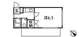 グラース久米川[3階]の間取り