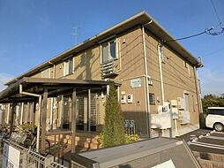 千葉県市原市島野の賃貸アパートの外観