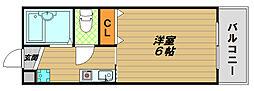兵庫県神戸市長田区苅藻通2丁目の賃貸マンションの間取り