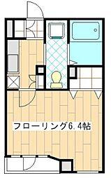 神奈川県横浜市青葉区青葉台1丁目の賃貸マンションの間取り