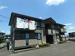 栃木県小山市大字横倉新田の賃貸アパートの外観