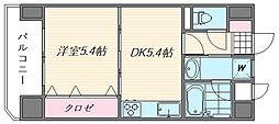 ライオンズマンション香椎駅東[4階]の間取り