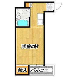 福岡ビル[3階]の間取り