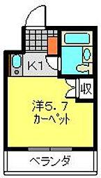 TOP桜木町第2[303号室]の間取り