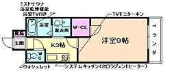 学生会館Grand E`terna大阪[405号室]の間取り