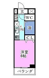 柴田ビル[2階]の間取り