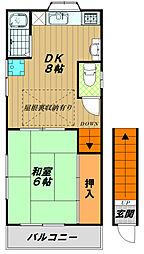 [一戸建] 兵庫県神戸市長田区戸崎通3丁目 の賃貸【/】の間取り