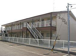 岐阜県羽島市竹鼻町狐穴の賃貸アパートの外観