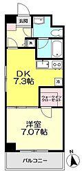 コンフォート関町II[201号室]の間取り画像