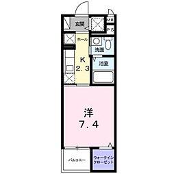 Casa Inaho[4階]の間取り