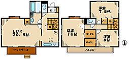 [一戸建] 神奈川県川崎市麻生区はるひ野3丁目 の賃貸【/】の間取り