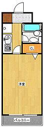 ドミール登戸[5階]の間取り