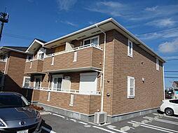 滋賀県彦根市稲部町の賃貸アパートの外観