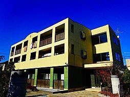 茨城県筑西市丙の賃貸マンションの外観
