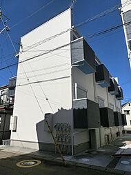 千葉県千葉市中央区白旗2丁目の賃貸アパートの外観