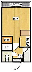 品川ハイツ A[105号室]の間取り