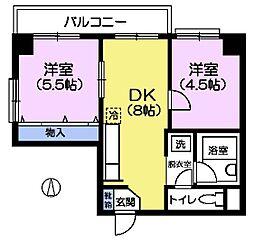 第二豊明ビル[3階]の間取り
