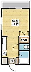 長崎県長崎市岩屋町の賃貸マンションの間取り