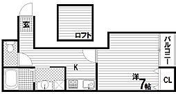 レジデンス月見山[2階]の間取り