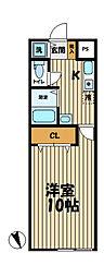YAMASHIN・笛田[202号室]の間取り