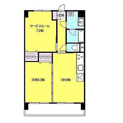 KYOWA HOUSE[3階]の間取り