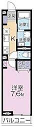 (仮称)大宮区吉敷町3丁目project 3階1Kの間取り